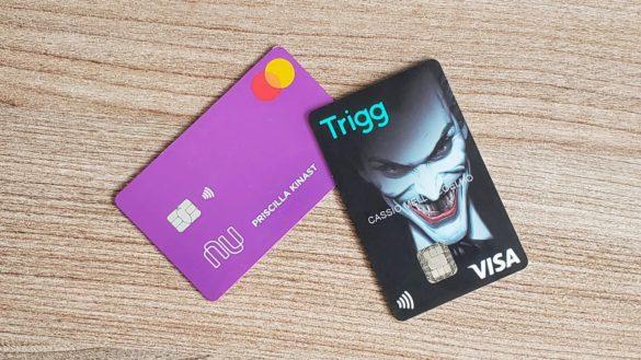 melhor cartao de crédito com cashback nubank vs trigg