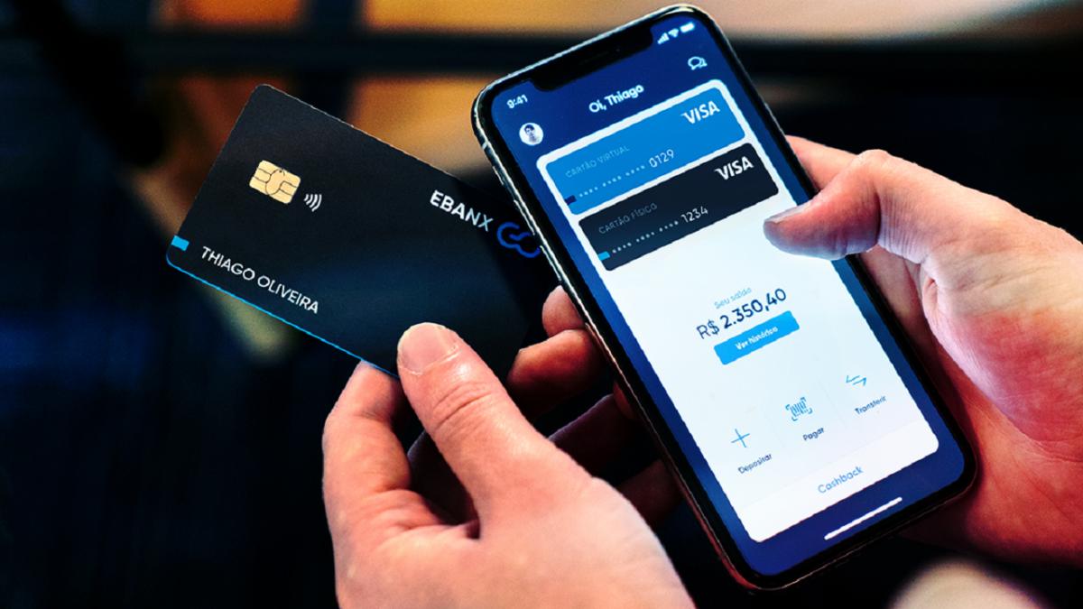 Nova Conta Digital EBANX GO, sem tarifas e com cartão VISA sem anuidade, vale a pena?