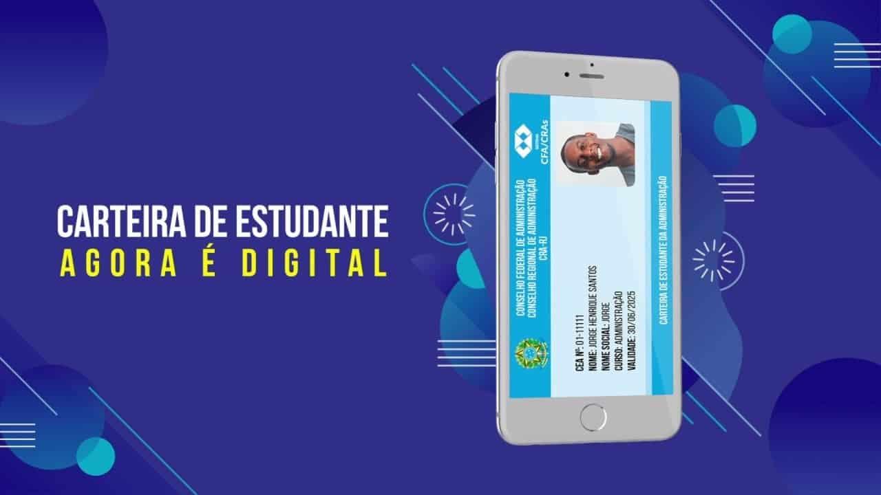 carteira estudantil gratuita digital