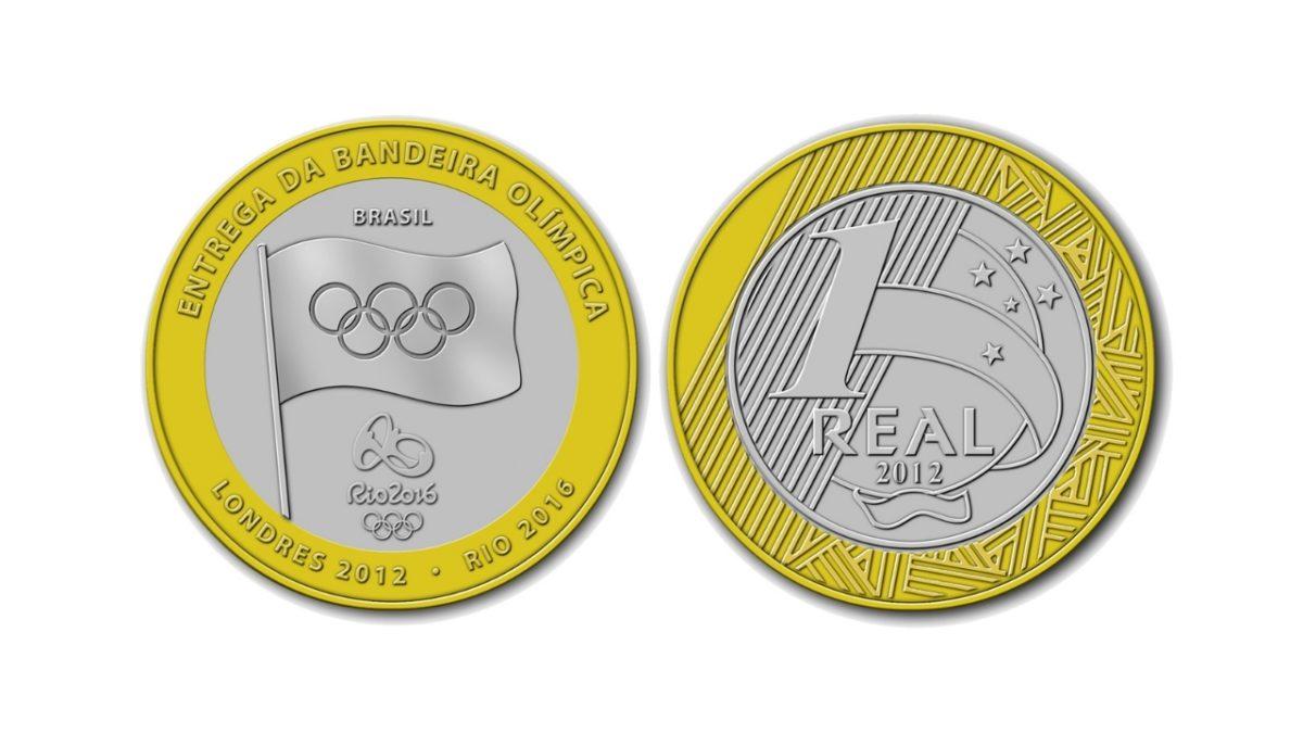 Atenção: você tem moedas das Olimpíadas? Elas podem valer até R$ 7 mil