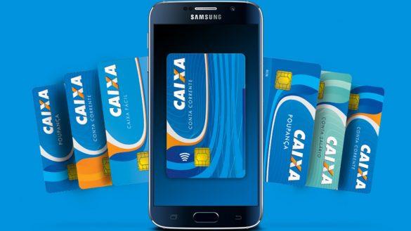 Caixa cartão de crédito virtual