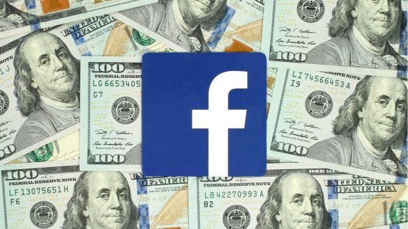 fundo do Facebook