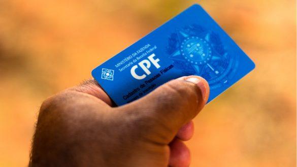 utilizar o CPF