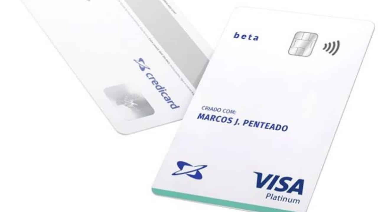 novo cartão de crédito