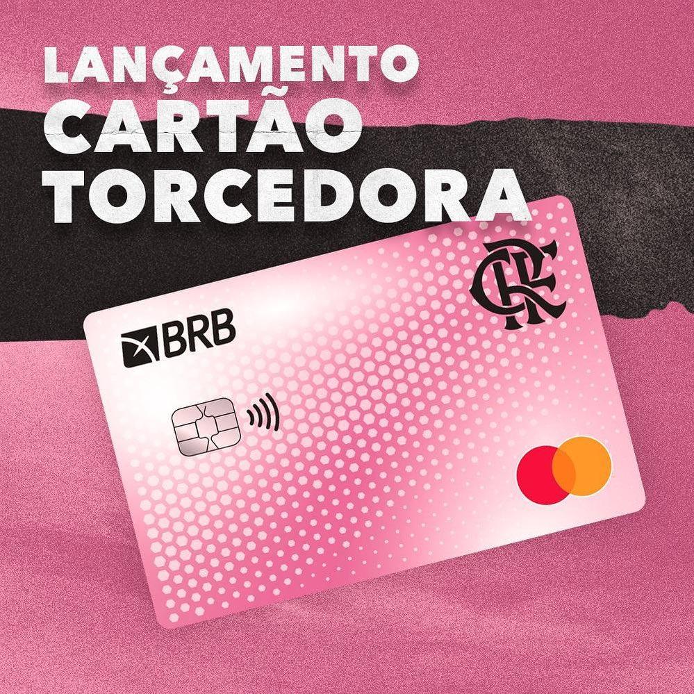 Cartão Torcedora BRB FLA