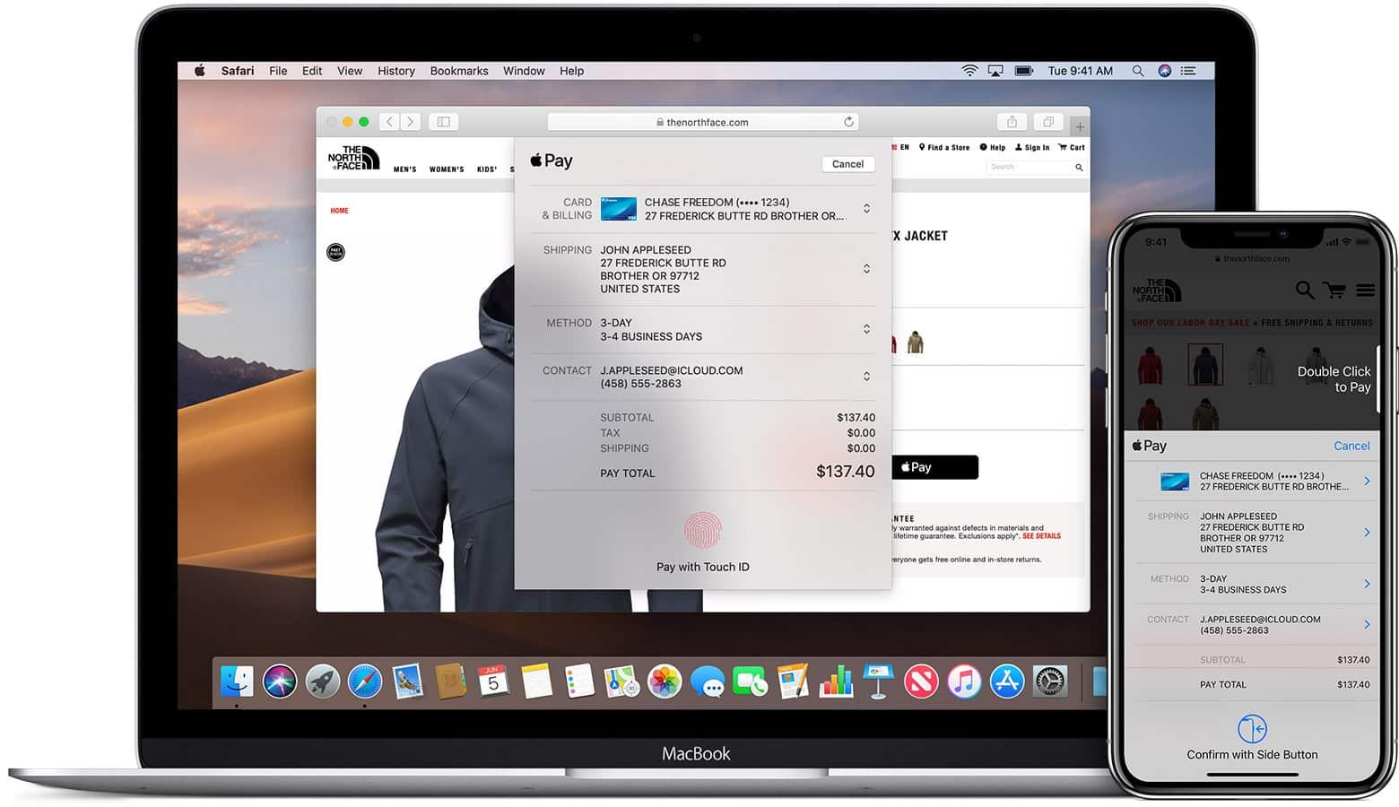 apple pay no mac