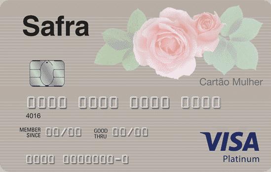 Safra Visa Platinum Mulher