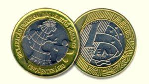 moedas dos direitos humanos