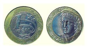 moedas tiragem 1999