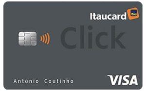 cartão Itaucard Click Visa Platinum