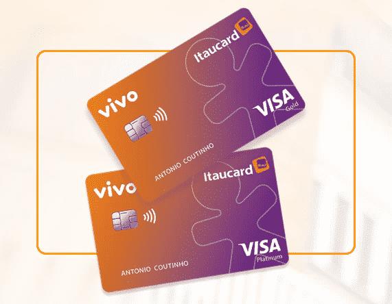 Novo cartão Vivo Itaucard