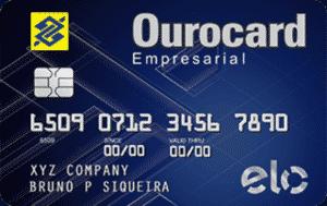 Cartão Ourocard Empresarial Elo - Banco do Brasil