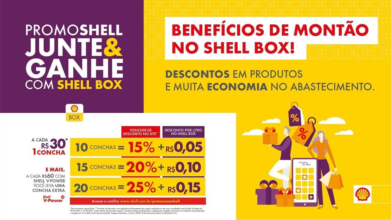 promoções da Shell