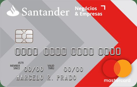cartão de crédito santander negocios & empresas