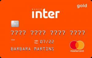 Cartão de crédito Banco Inter Mastercard Gold