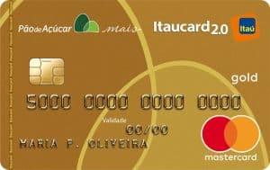 Cartão de crédito pão de açúcar mais gold mastercard