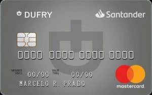Cartão de crédito Santander Dufry mastercard platinum