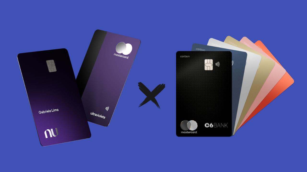 Nubank Ultravioleta x C6 Carbon
